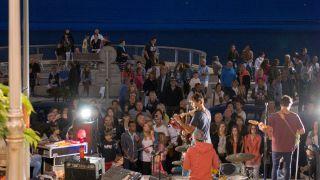Concert sur le remblai- crédit photo Antoine-Martineau
