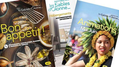 Brochures 2019 Les Sables d'Olonne tourisme