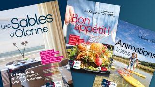 Brochures 2020 de la Destination Les Sables d'Olonne