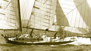 Golden Globe Race - Robin Knox Johnston crédit Ian Dear