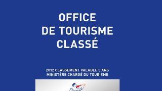 Office de Tourisme catégorie 1