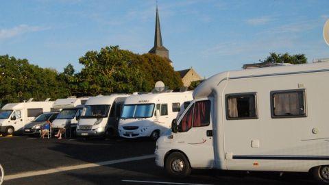 Aire de campings Car - Olonne sur Mer