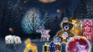 Noël en lumière aux Sables d'Olonne