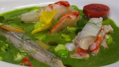 Restaurant le Quai des Saveurs sur le port de pêche des Sables d'Olonne