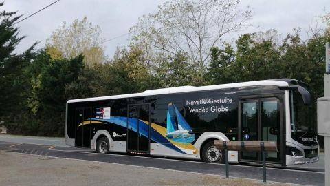 Navette gratuite Vendée Globe