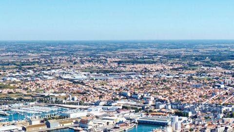 Vue aérienne La Vannerie A. Lamoureux